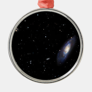 Galaxia espiral M106 Adorno Navideño Redondo De Metal