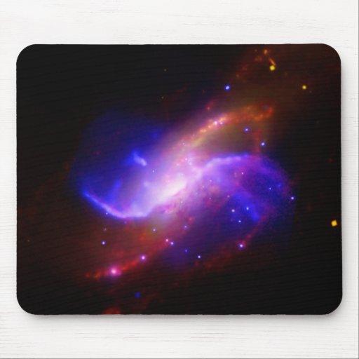 Galaxia espiral M106 de NASAs Alfombrilla De Ratones