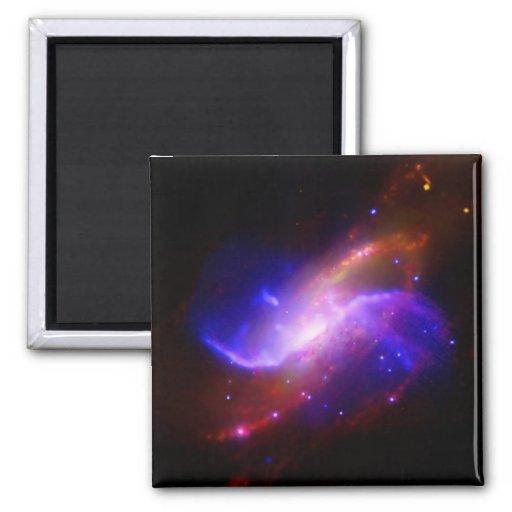 Galaxia espiral M106 de NASAs Imanes De Nevera