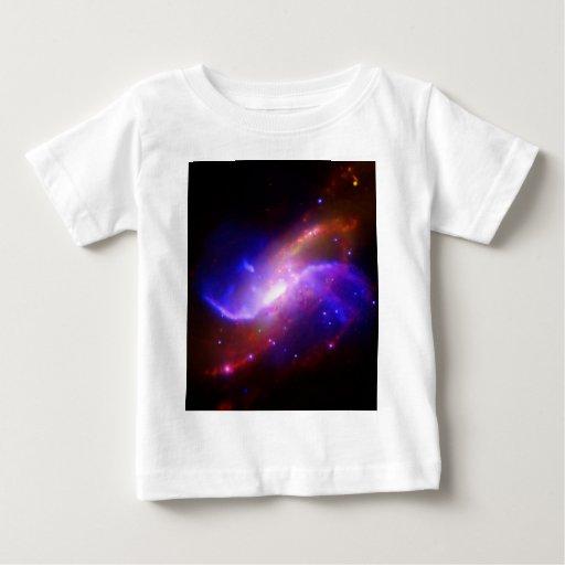 Galaxia espiral M106 de NASAs Playera De Bebé