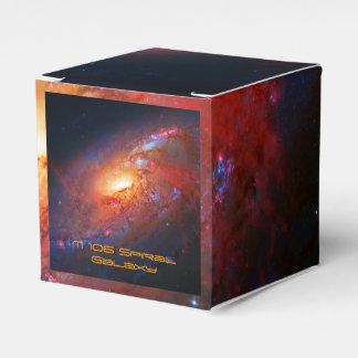 Galaxia espiral M106 en los bastones Venatici Cajas Para Regalos De Boda