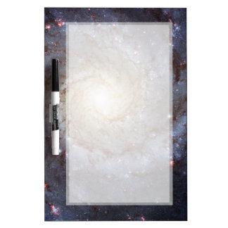 Galaxia espiral M74 (Hubble) Tablero Blanco