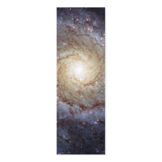 Galaxia espiral M74 (Hubble) Tarjeta De Visita