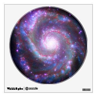 Galaxia espiral M-51 Vinilo Decorativo