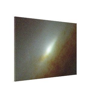 Galaxia espiral NGC 5965 Lona Envuelta Para Galerías