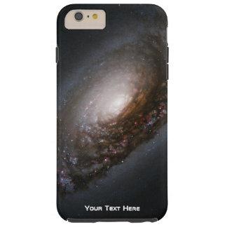 Galaxia espiral personalizada funda resistente iPhone 6 plus