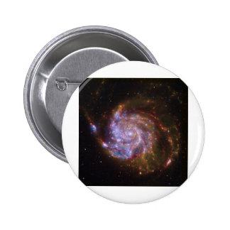 Galaxia espiral pins