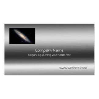 Galaxia espiral - plantilla de la Metálico-mirada