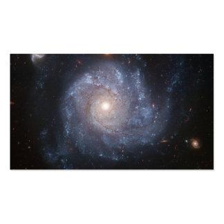 Galaxia espiral plantillas de tarjetas personales