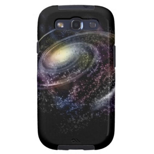 Galaxia espiral samsung galaxy s3 fundas