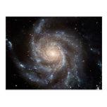 Galaxia espiral tarjetas postales