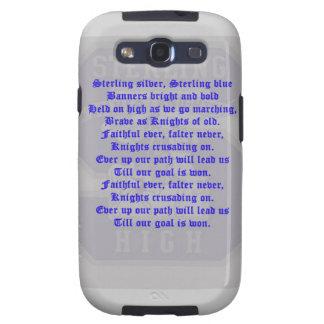 Galaxia esterlina S de Alma Mater Samsung de la Hi Galaxy S3 Coberturas