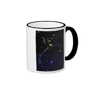 Galaxia externa taza de dos colores