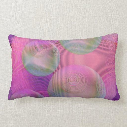 Galaxia fucsia y violeta del flujo interno III - Cojin