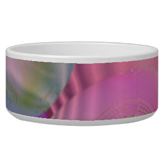 Galaxia fucsia y violeta del flujo interno III - Bol Para Perro