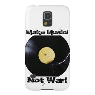 Galaxia: ¡Haga la música! ¡No guerra! Carcasa Para Galaxy S5