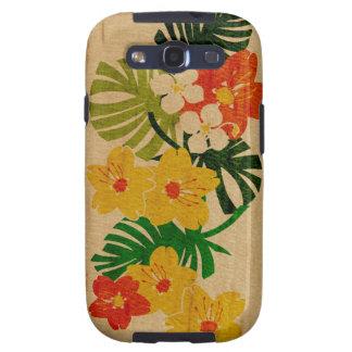 Galaxia hawaiana de Samsung de la tabla hawaiana Samsung Galaxy S3 Carcasas