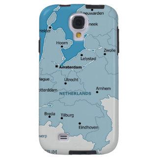 Galaxia holandesa S4 de Samsung del mapa
