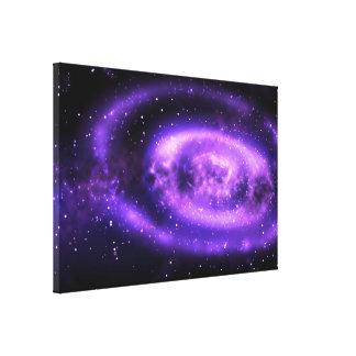Galaxia Impresión En Lienzo