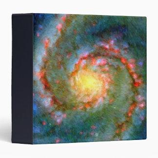 "Galaxia impresionista 1,5"" de Whirlpool álbum de f Carpeta 1 1/2"""