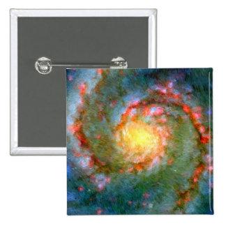 Galaxia impresionista de Whirlpool Pins