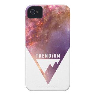 Galaxia invertida auténtica del triángulo del espa Case-Mate iPhone 4 protector