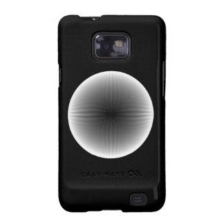 Galaxia invertida S2 de Samsung de la bola de Galaxy S2 Fundas