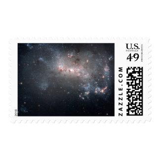 Galaxia irregular enana NGC 4449 de Magellanic Sellos