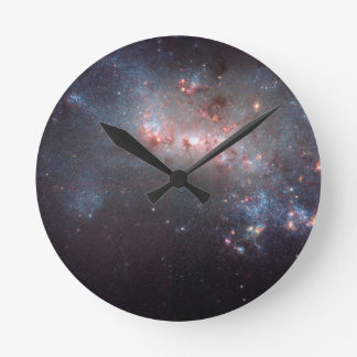 Galaxia irregular NGC 4449 Caldwell 21 Reloj Redondo Mediano
