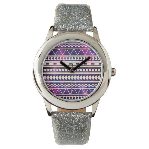 Galaxia los Andes aztecas Reloj