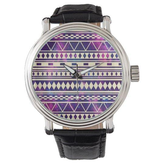 Galaxia los Andes aztecas Reloj De Mano