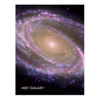 GALAXIA M81 TARJETA POSTAL