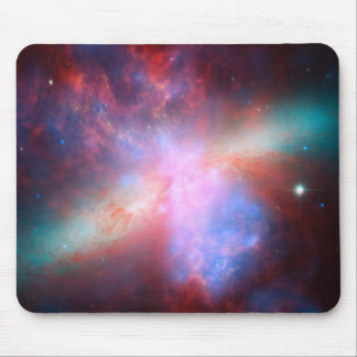 Galaxia M82 Alfombrillas De Ratón