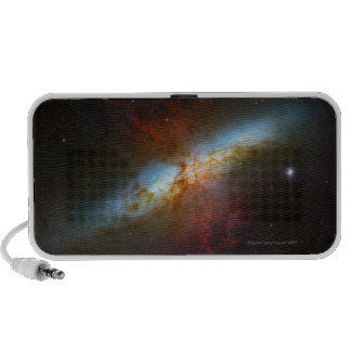 Galaxia M82 de Starburst Altavoz De Viajar