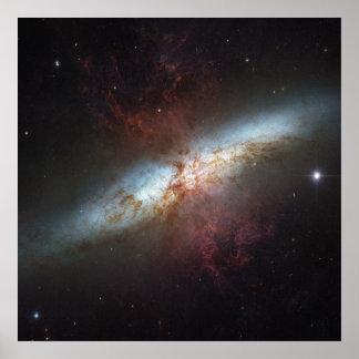 Galaxia M82 de Starburst Impresiones