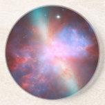 Galaxia M82 de Starburst Posavasos Para Bebidas