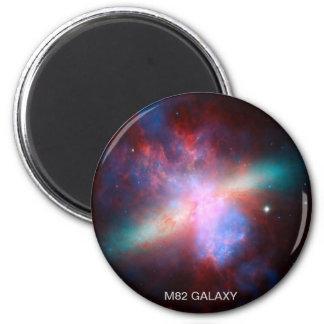 Galaxia M82 Imán Redondo 5 Cm