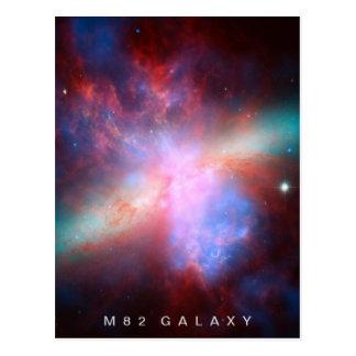 Galaxia M82 Postal