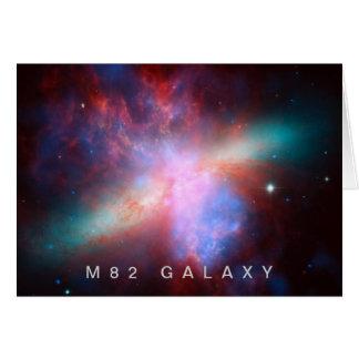 Galaxia M82 Tarjeta De Felicitación