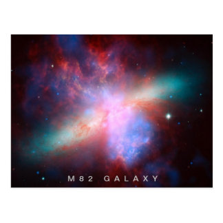 Galaxia M82 Tarjetas Postales