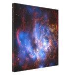 Galaxia M-33 Impresión En Lona Estirada