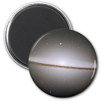 Galaxia Magnent del sombrero Imán Redondo 5 Cm