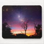 Galaxia Mousepad del espacio de la nebulosa Tapete De Raton