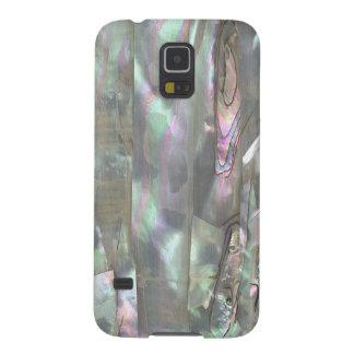 Galaxia NACARADA s5 de Samsung de la impresión del Funda Galaxy S5