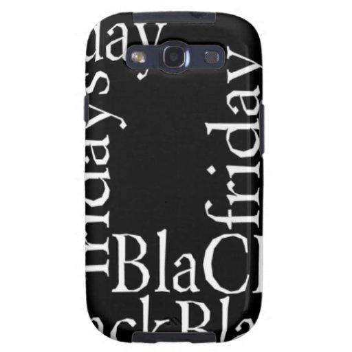 Galaxia negra S3 Vib de Samsung de la casamata de  Galaxy S3 Cárcasas