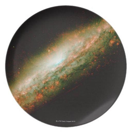 Galaxia NGC 3079 Platos