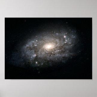 Galaxia NGC 3949: Una galaxia similar a la vía lác Poster