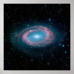 Galaxia NGC 4725 Póster