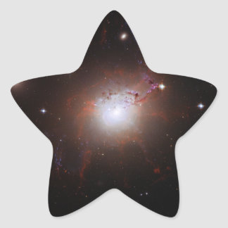 Galaxia NGC de Seyfert Perseus 1275 un Caldwell 24 Pegatina En Forma De Estrella