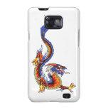Galaxia    oriental fresca de Samsung del dragón d Galaxy SII Carcasas
